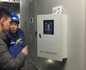 轨道交通光纤温控器实际应用