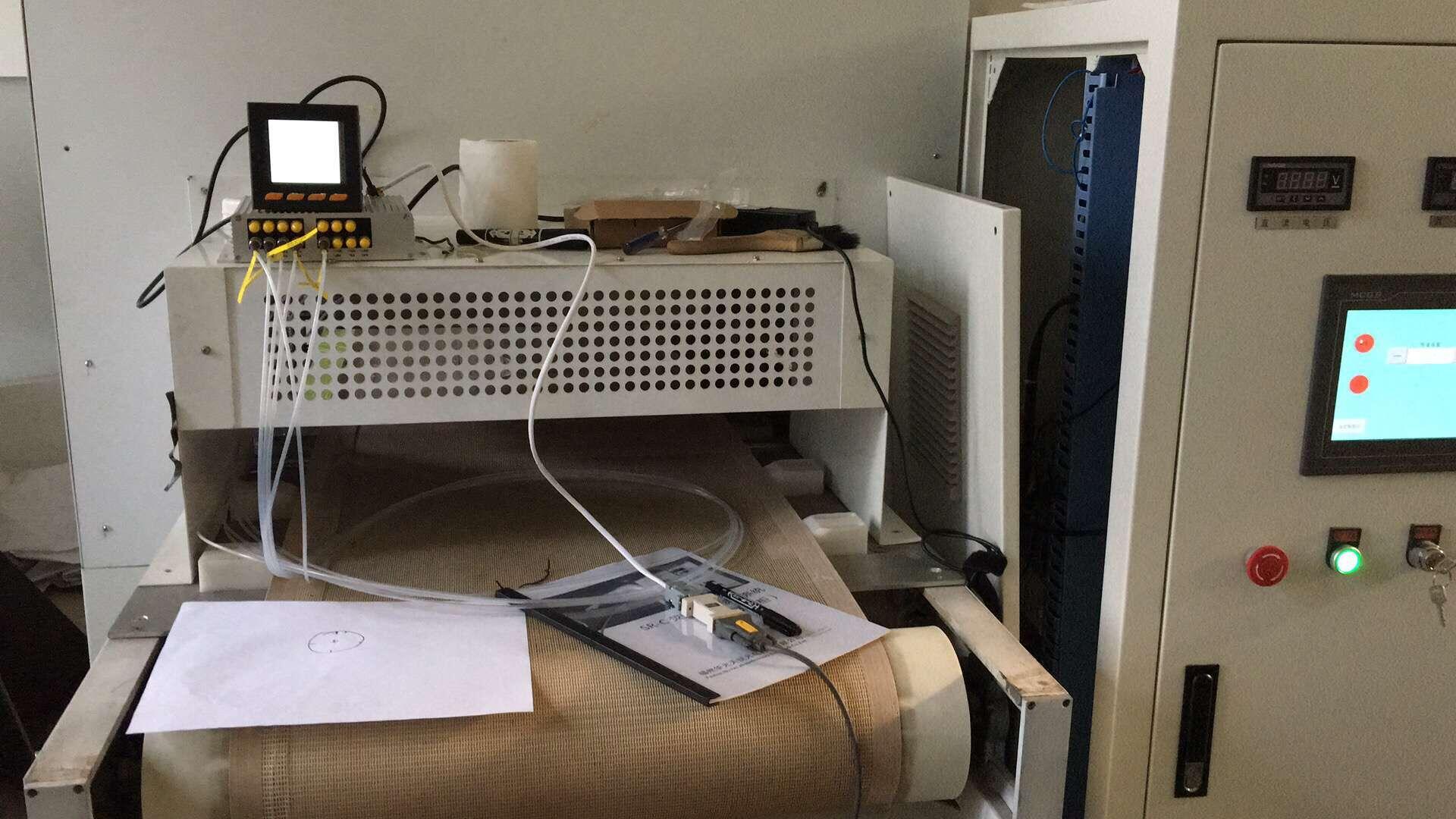 射频加热设备荧光光纤测温装置