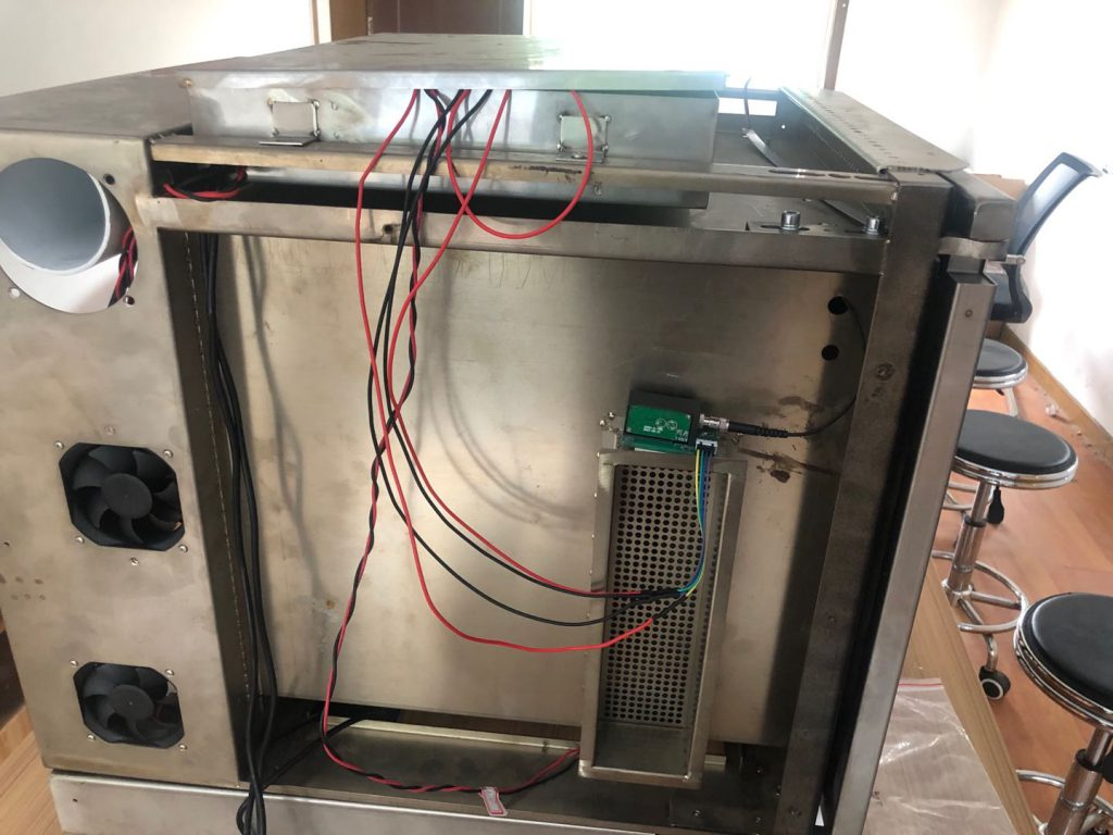 实验仪器容器光纤测温装置